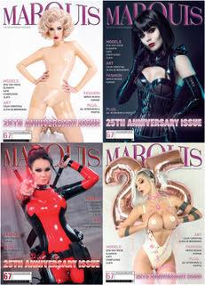 Magazin Marquis 25 Jahre Jubiläumsausgabe (mit Kurage Latex)