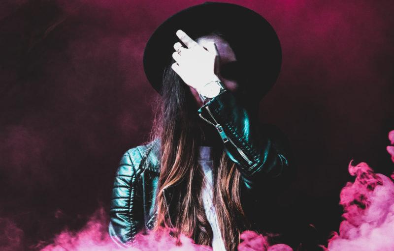 Gestalt mit Hut - Lady Gaga Latex